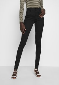 ONLY Tall - ONLROYAL HIGH SKINNY - Jeans Skinny - black - 0