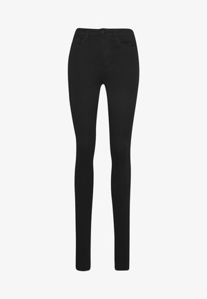 ONLROYAL HIGH SKINNY - Vaqueros pitillo - black