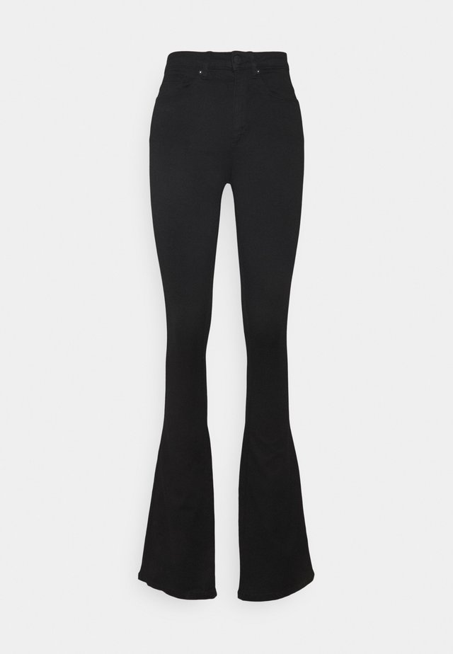 ONLROYAL LIFE HIGH SWEET FLARE - Jeans a zampa - black