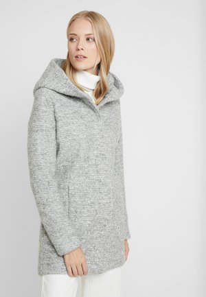 ONLSEDONA COAT - Krátký kabát - light grey melange