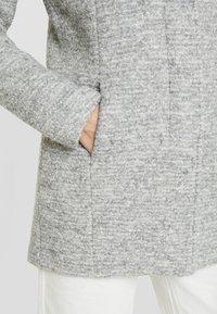 ONLY Tall - ONLSEDONA COAT - Manteau court - light grey melange - 5