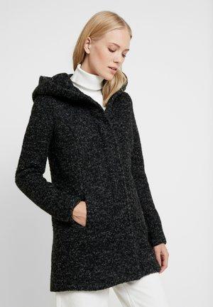 ONLSEDONA COAT - Krátký kabát - black/melange