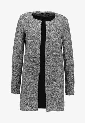 ONLONCE BLOCKED COATIGAN - Zimní kabát - medium grey melange