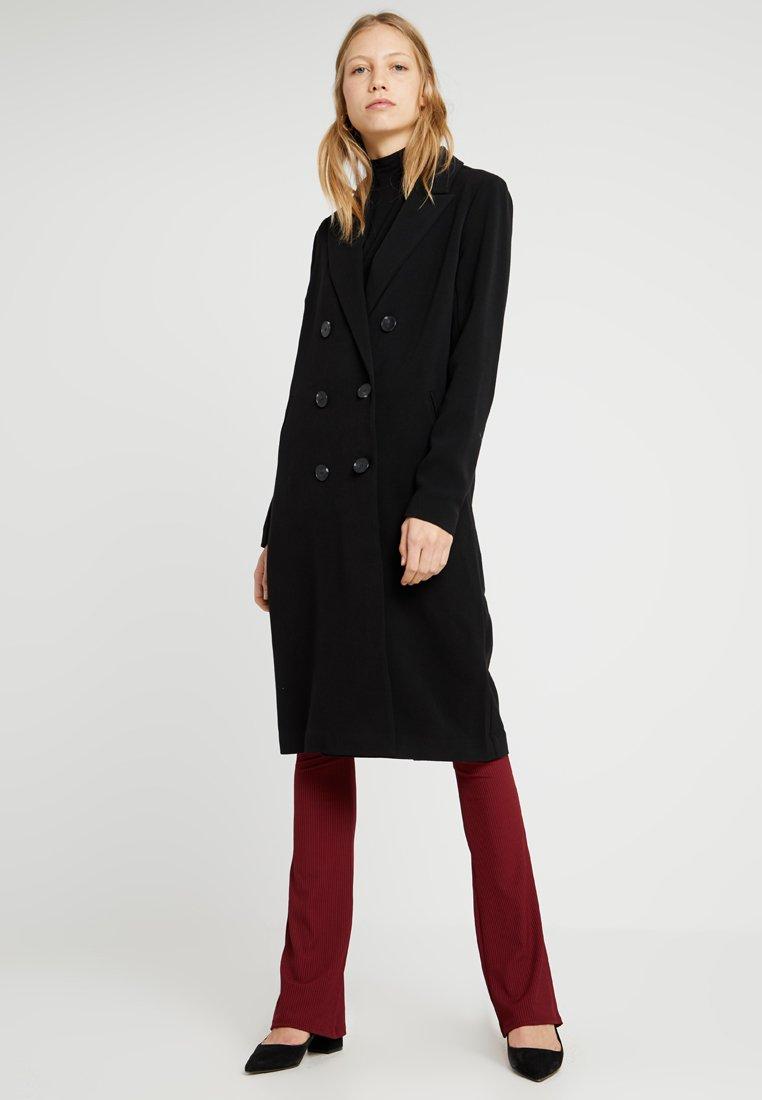 ONLY Tall - ONLJUSTINE SPRING COAT - Manteau classique - black