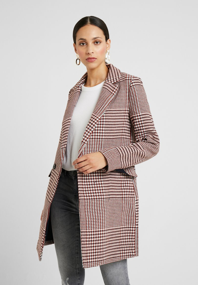 ONLY Tall - ONLSELENA CHECK - Classic coat - pumice stone/picante