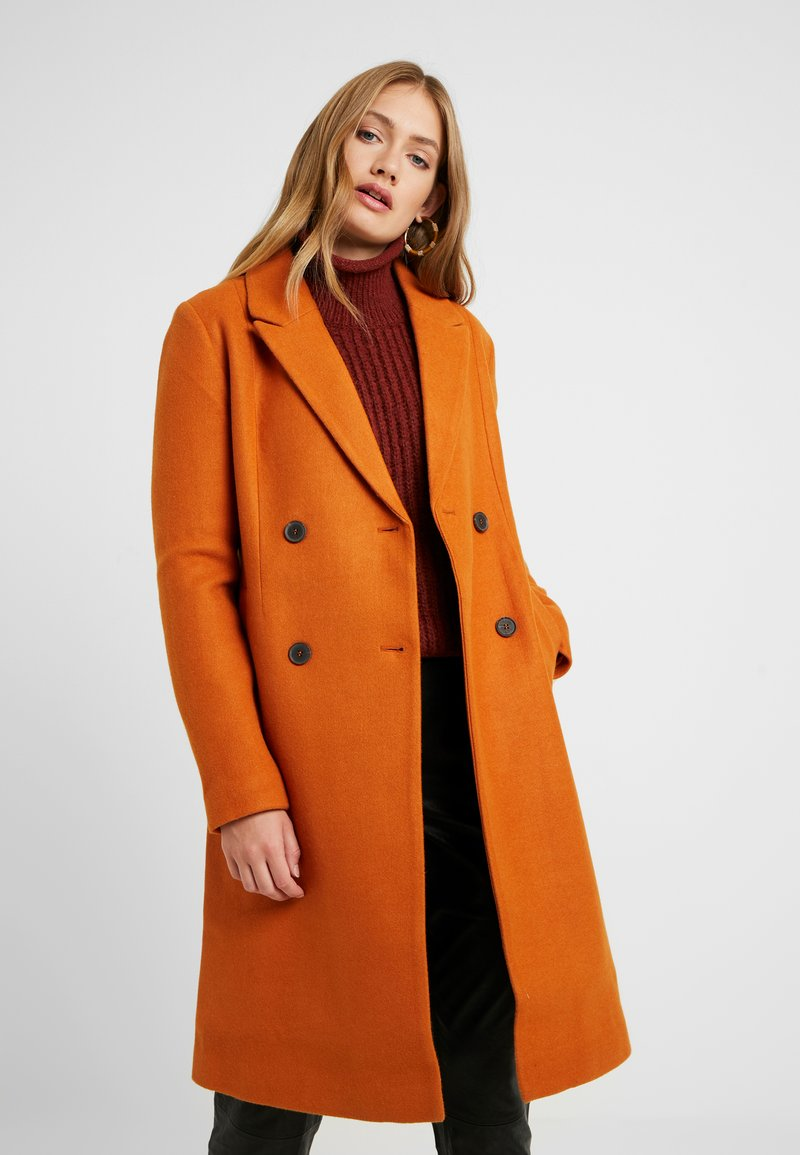 ONLY Tall - ONLLOUISA COAT TALL  - Wollmantel/klassischer Mantel - pumpkin spice