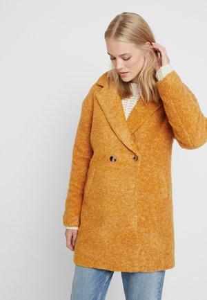 ONLNINA CELESTE COAT - Classic coat - cadmium yellow/melange