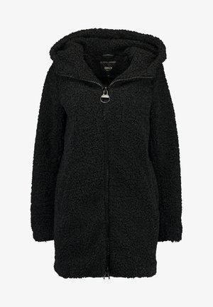 ONLTERRY  HOOD COAT - Zimní kabát - black