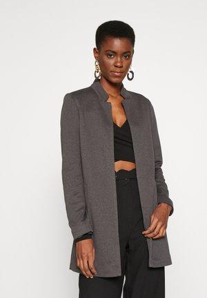 ONLSOHORUBY SPRING COAT - Krátký kabát - dark grey melange