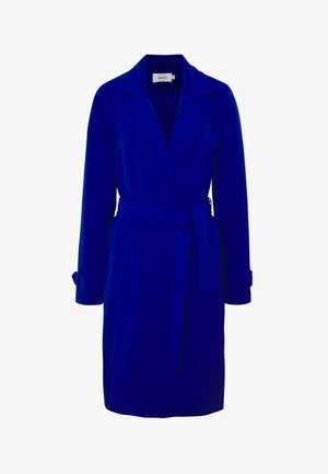 ONLUNNA DRAPY COAT TALL  - Classic coat - mazarine blue