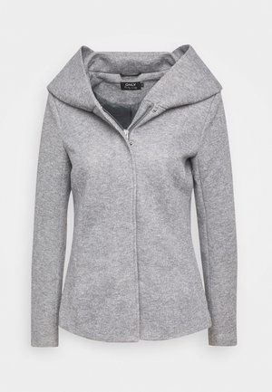 ONLNEWSEDONA SHORT LIGHT JACKET TAL - Lehká bunda - light grey melange