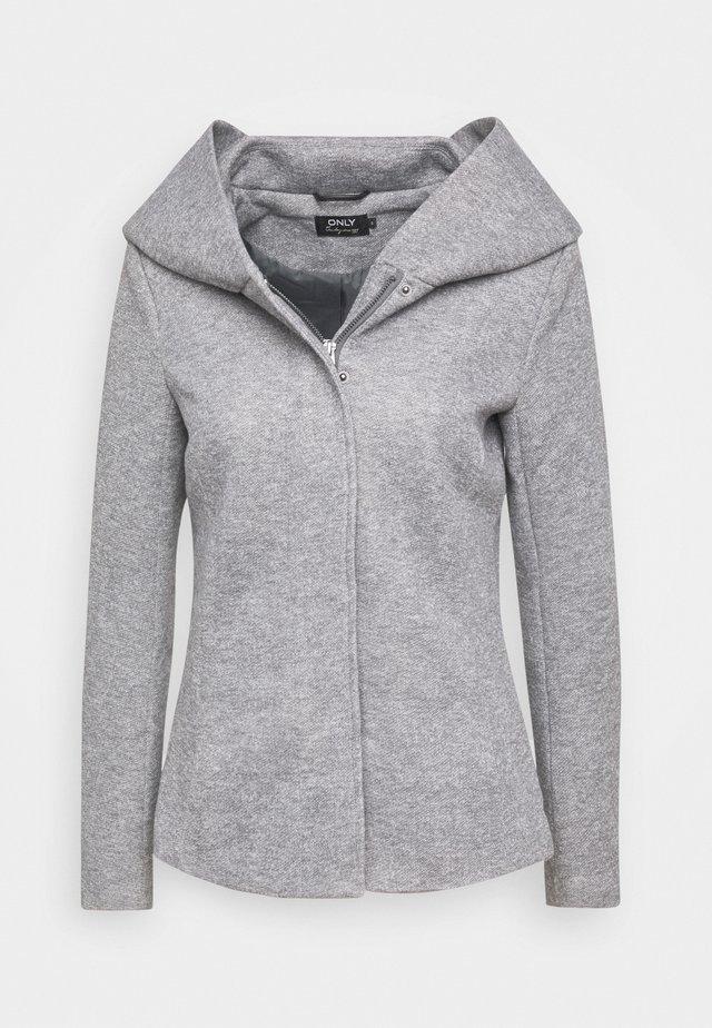 ONLNEWSEDONA SHORT LIGHT JACKET TAL - Summer jacket - light grey melange