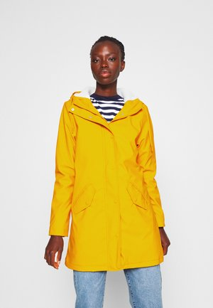 ONLSALLY RAINCOAT - Parka - golden yellow
