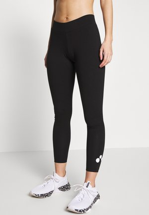 ONPSYS LOGO TIGHTS - Leggings - Trousers - black