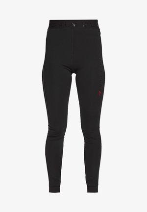 ONPPERFORMANCE TRAINING TIGHTS - Leggings - black/red