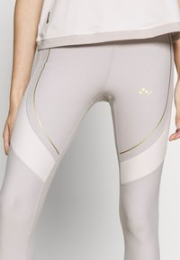ONLY PLAY Petite - ONPJACINTE TRAINING TIGHTS PETIT - Leggings - Trousers - ashes of roses/lilac ash/white - 4
