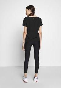 ONLY PLAY Petite - ONPJACINTE TRAINING TIGHTS PETIT - Leggings - Trousers - black/white gold - 0