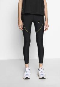 ONLY PLAY Petite - ONPJACINTE TRAINING TIGHTS PETIT - Leggings - Trousers - black/white gold - 2