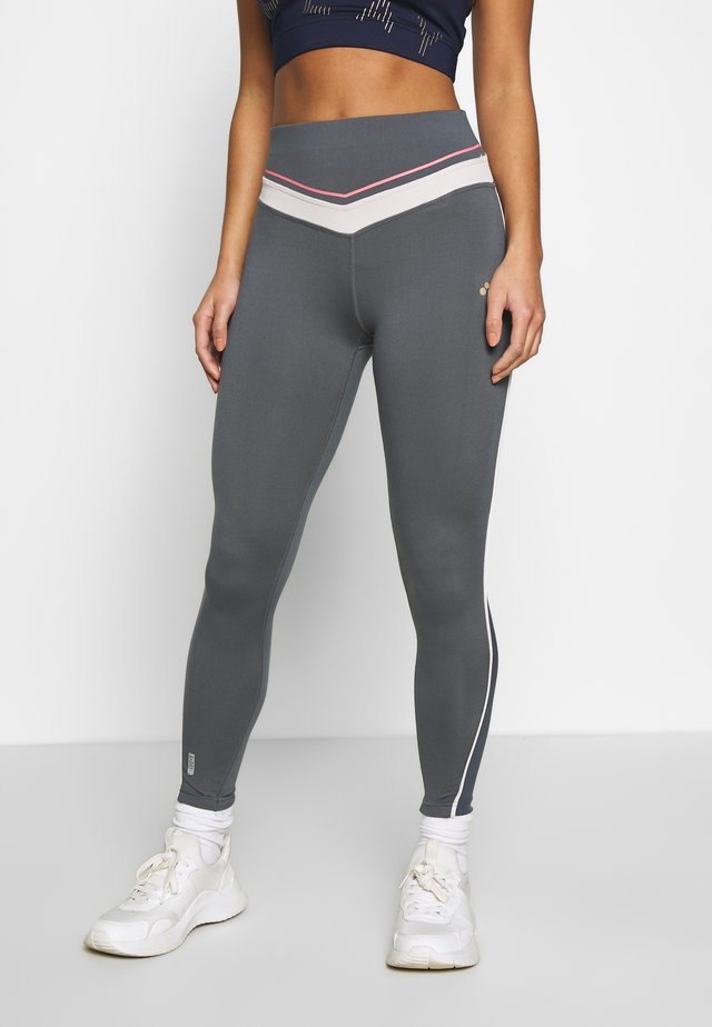 ONPJEWEL TRAINING TIGHTS - Leggings - Trousers - turbulence