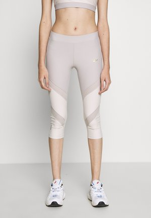 ONPJACINTE 3/4 TRAINING TIGHTS - Leggings - Trousers - ashes of roses/lilac ash