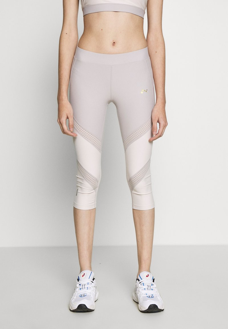 ONLY PLAY Petite - ONPJACINTE 3/4 TRAINING TIGHTS - Leggings - Trousers - ashes of roses/lilac ash