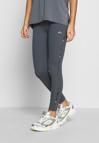ONLY PLAY Petite - ONPMARIKA TRAINING  - Leggings - turbulence/phantom black - 0