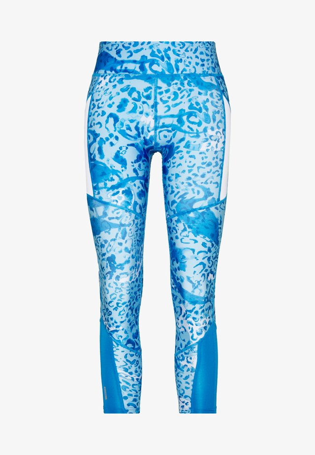 ONPANGILIA LIFE - Leggings - Trousers - imperial blue/white/imperial blue
