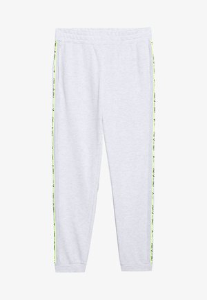 ONPALYSSA PANTS PETITE - Pantalones deportivos - white melange/saftey yellow