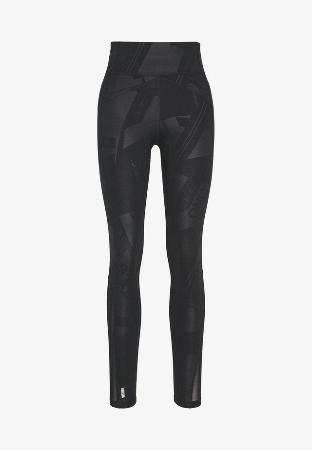 ONPMADO TRAINING TIGHTS  - Leggings - Trousers - black