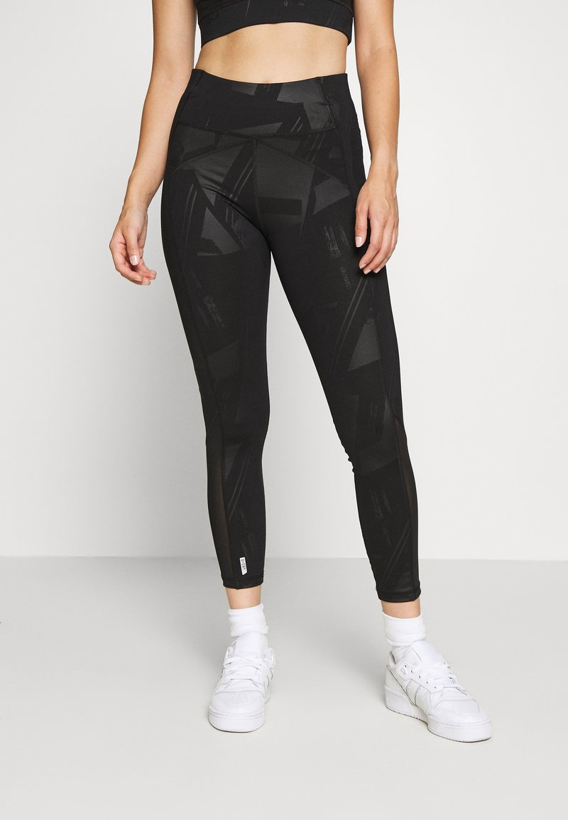 ONLY PLAY Petite - ONPMADO TRAINING TIGHTS  - Leggings - Trousers - black
