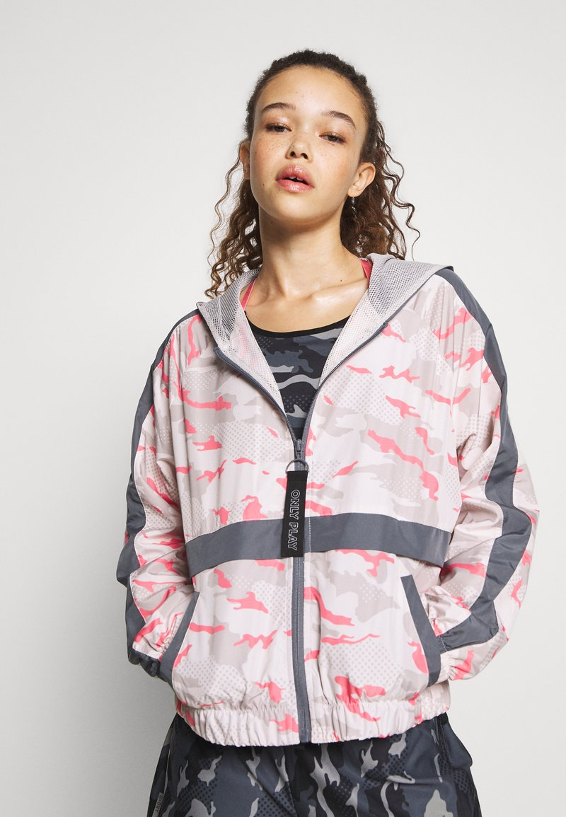 ONLY PLAY Petite - ONPJOY ZIP JACKET - Summer jacket - lilac/ash