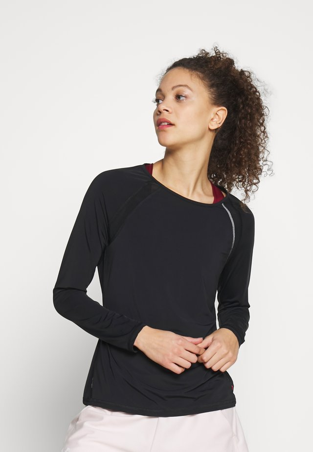 ONPPERFORMANCE - Long sleeved top - black