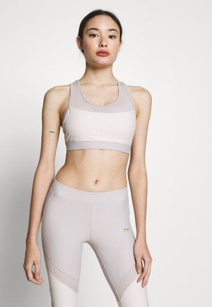 ONPJACINTE SPORTS BRA - Linne - ashes of roses/lilac ash