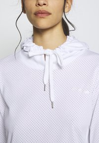 ONLY PLAY Petite - ONPADELLA HOOD TEE - Jersey con capucha - white - 4