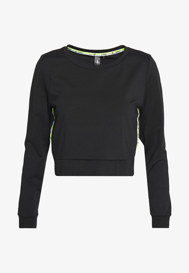 ONPADOR SHORT PETITE - Long sleeved top - black