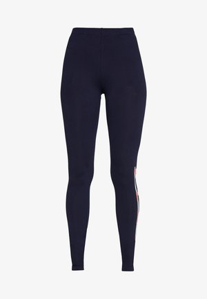 ONPFELICE LIFE - Leggings - Trousers - maritime blue/strawberry pink