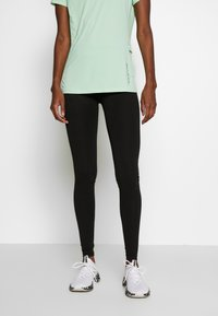 ONLY PLAY Tall - ONPSYS LOGO TIGHTS TALL - Leggings - Trousers - black - 0