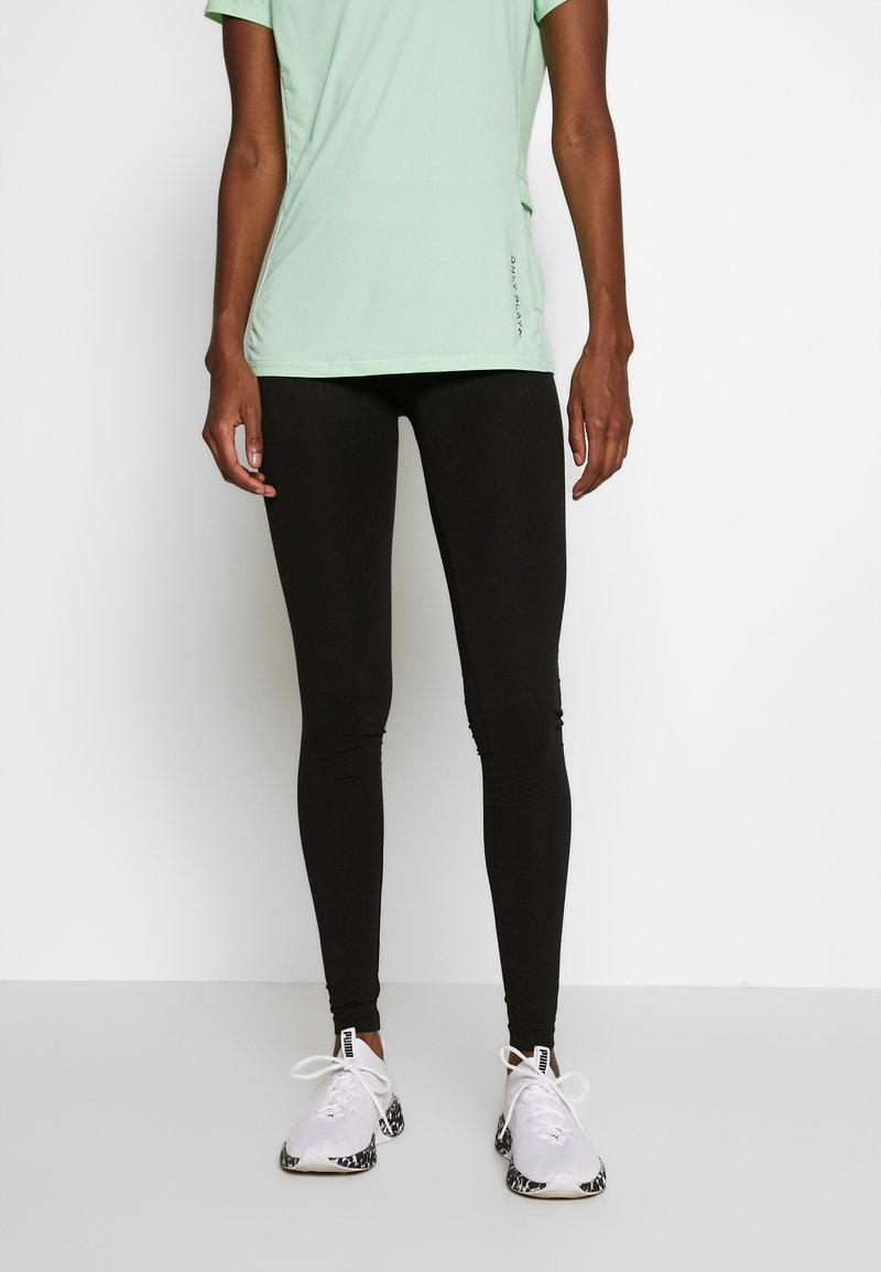 ONLY PLAY Tall - ONPSYS LOGO TIGHTS TALL - Leggings - Trousers - black