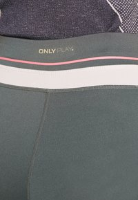 ONLY PLAY Tall - ONPJEWEL MESH TRAINING TIGHTS - Leggings - Trousers - turbulence - 3