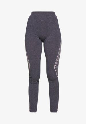 ONPFIFI LIFE CIRCULAR TIGHTS TALL - Leggings - Trousers - maritime blue/melange white