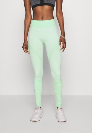 ONPMASHA LIFE CIRCULAR TIGHTS - Leggings - Trousers - green ash