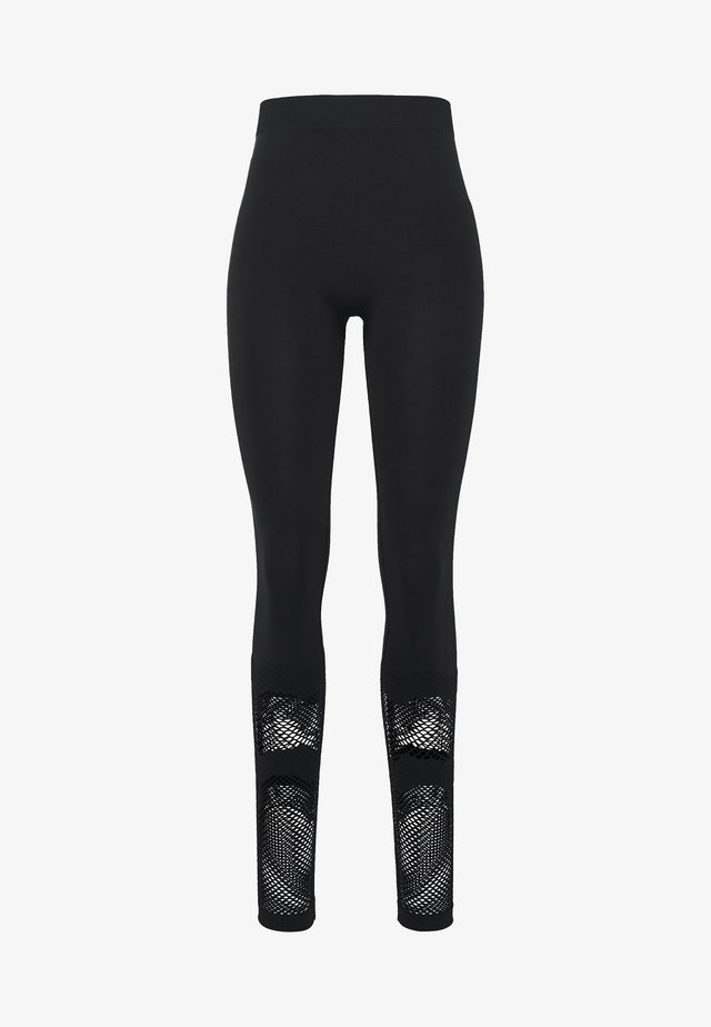 ONPADELYNN CIRCULAR TIGHTS  - Legginsy - black