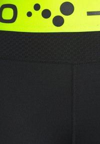 ONLY PLAY Tall - ONPJACEI TIGHTS - Leggings - black/saftey yellow - 2