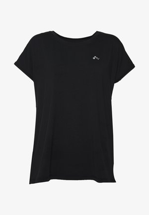 ONPAUBREE LOOSE TRAINING TEE  - Print T-shirt - black