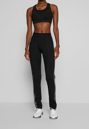 ONPJOY PANTS TALL - Tracksuit bottoms - black/turbulence/strawberry pie