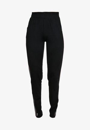 ONPJOY PANTS TALL - Spodnie treningowe - black/turbulence/strawberry pie