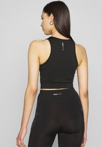 ONLY PLAY Tall - ONPFIONA CROPPED TRAINING TOP - Top - black
