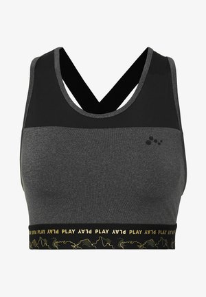 ONPJYNX SPORTS BRA - Top - dark grey /black