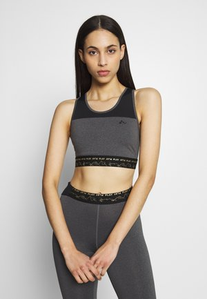 ONPJYNX SPORTS BRA - Toppe - dark grey /black