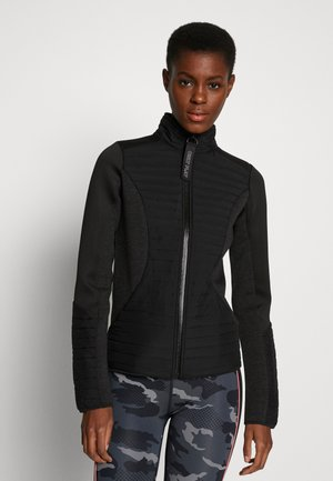 ONPJOLINA PADDED SHORT JACKET - Lehká bunda - black
